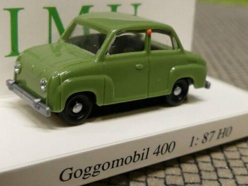 1//87 Euromodell IMU Goggomobil 400 olivgrün 04001