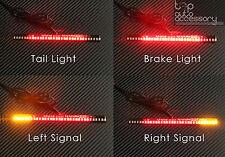 33-SMD LED Bar Brake Tail Light & Left/Right Turn Signal Lamp for Honda Moto