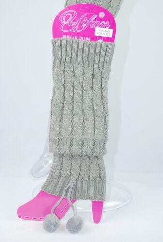 Stulpen Beinstulpen Legwärmer Beinwärmer Leggings Bein Stulpen STRICK 6 Farben