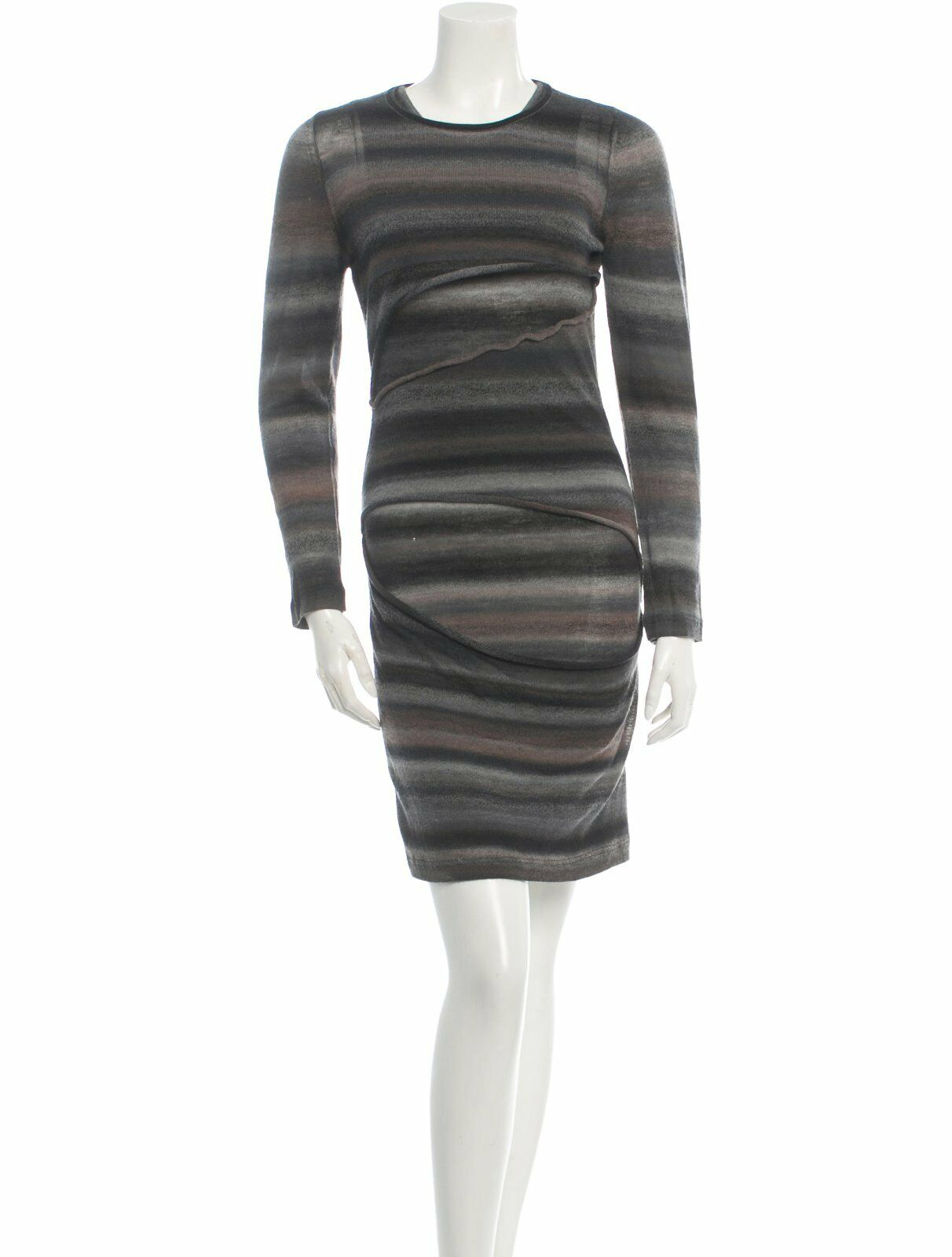 CRAZY COOL, BRAND NEW  A.L.C. WOOL 'RIPPED' DRESS (NWT)