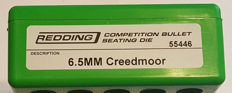 55446 asientos rojoding competencia Die - 6.5 Creedmoor-Nuevo-Envío Gratis