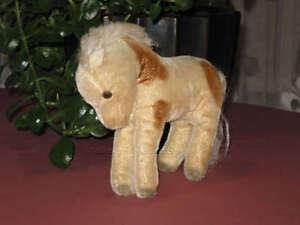 Steiff-Pony-Horse-1952-1957-1317-0-17-cm-Mohair-Rare
