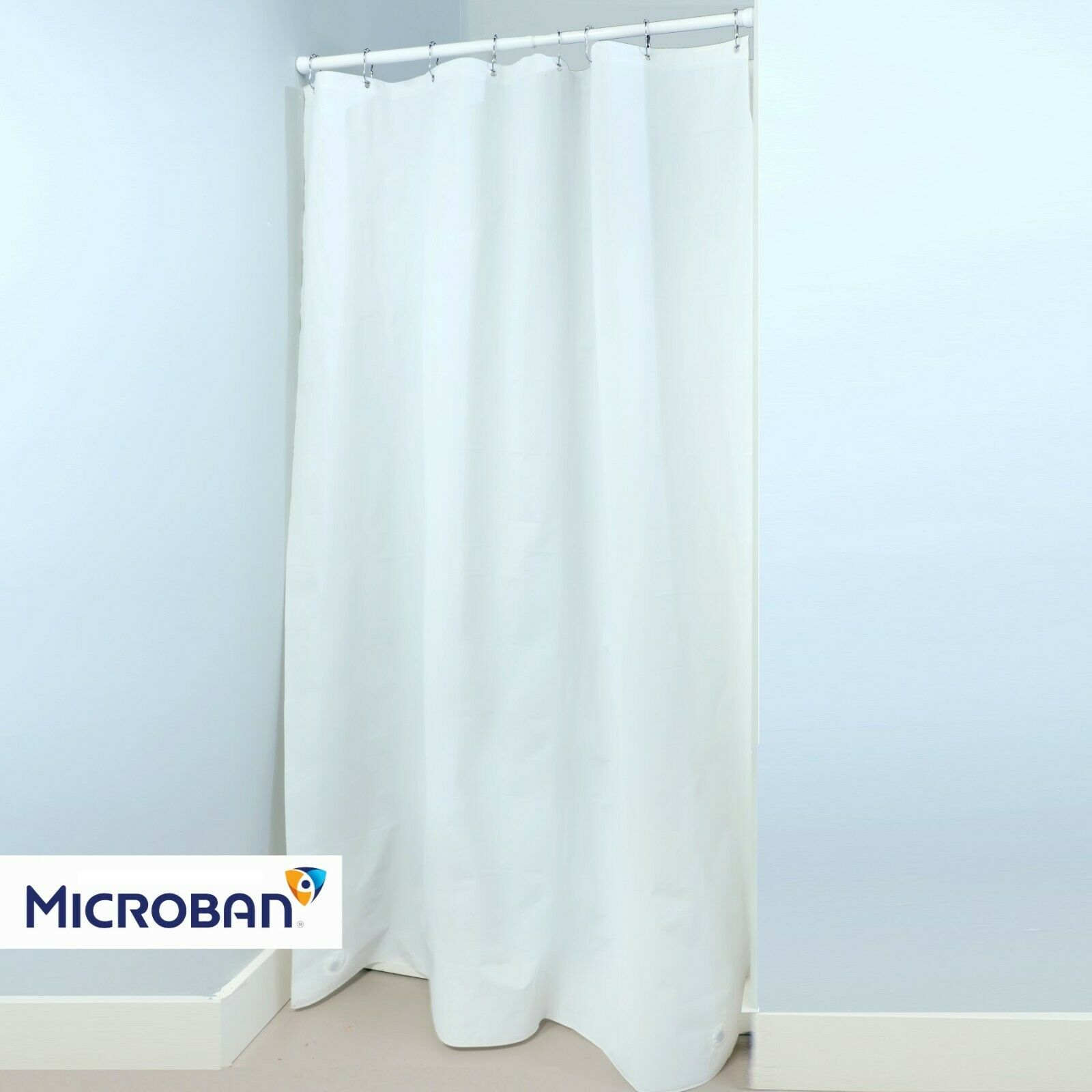 54 X 78 Heavyweight Peva Shower Stall Curtain Liner With Microban 2 Colors For Sale