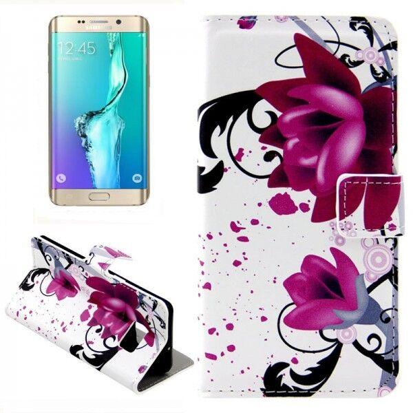 CARTERA DE LUJO motivo Bolsa 3 para Samsung Galaxy S6 EDGE PLUS G928 F Funda