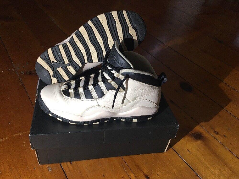 Nike Air Jordan 10 Retro Prem GG 6.5y 832645 207