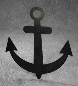 Black Metal Sailboat Anchor 32 Nautical Ship 39 S Wall Decor