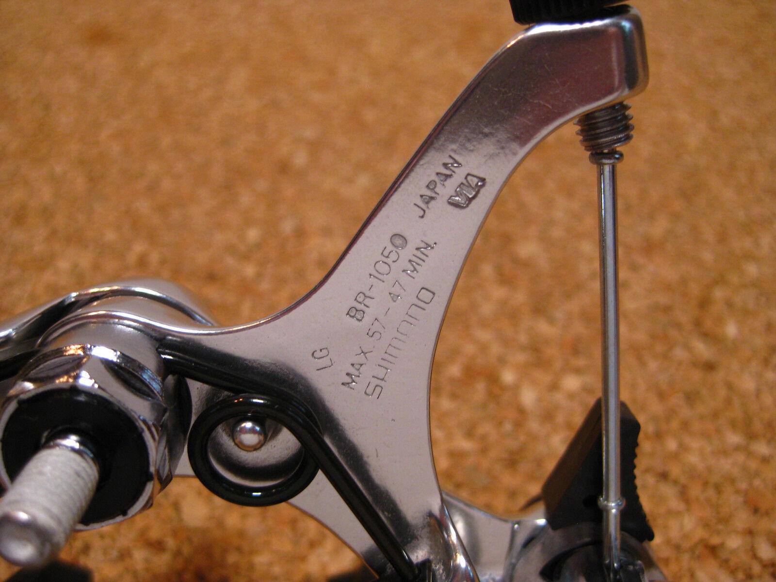 Shimano 105 Bremse Bremse Bremse - hinten - BR-1050 - langes Schenkelmaß - 1987 - Neu - NOS f9c233