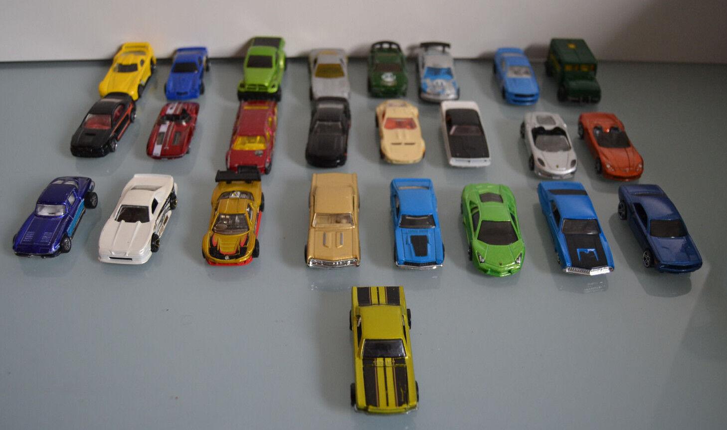 Lote de 25 coches Hot  Wtalons  plus d'escompte
