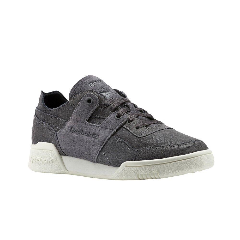 Reebok Workout Lo Dcn Foil (ASH GREY CHALK) Women's shoes BS9833