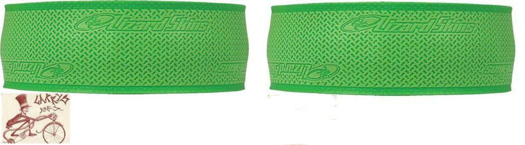 LIZARD SKINS DSP 2.5MM GREEN BICYCLE HANDLEBAR BARTAPE BAR TAPE