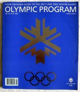 2002 WINTER OLYMPICS in Salt Lake ~ Official Program