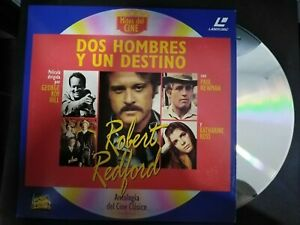 Two-Men-Y-Un-Fate-Laser-Disc-Robert-Redford