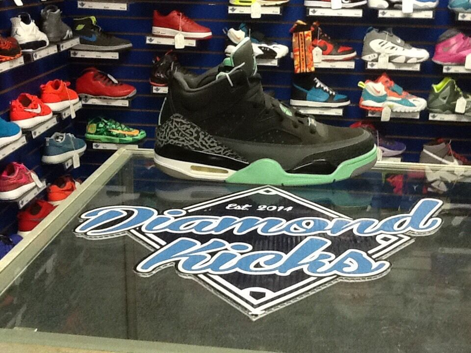 Air Jordan son of Mars Green-glo sz. 10.5