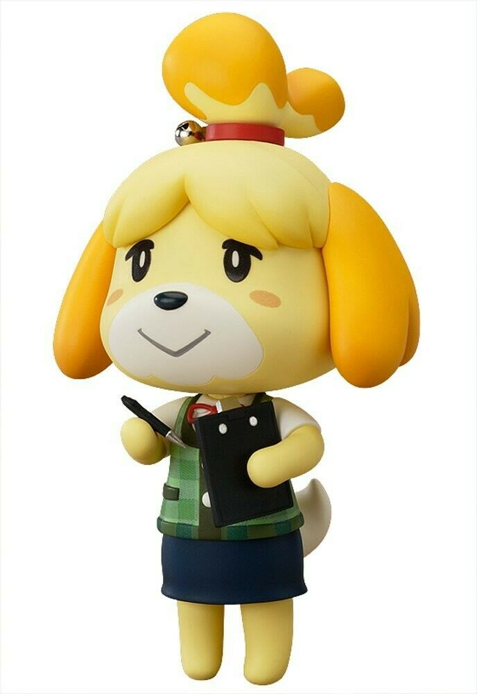 New Nendgoldid Animal Crossing Crossing Crossing New Leaf Shizue Action Figure Anime F S from Japan 0be648