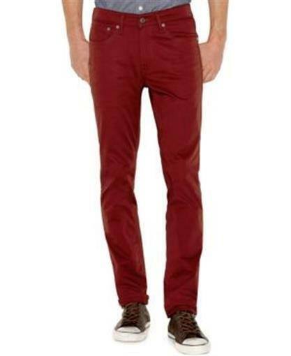 2be437f835 Levi s 511 Slim Fit Commuter Pants Jeans Reflective Red Mens Size 38x30 for  sale online