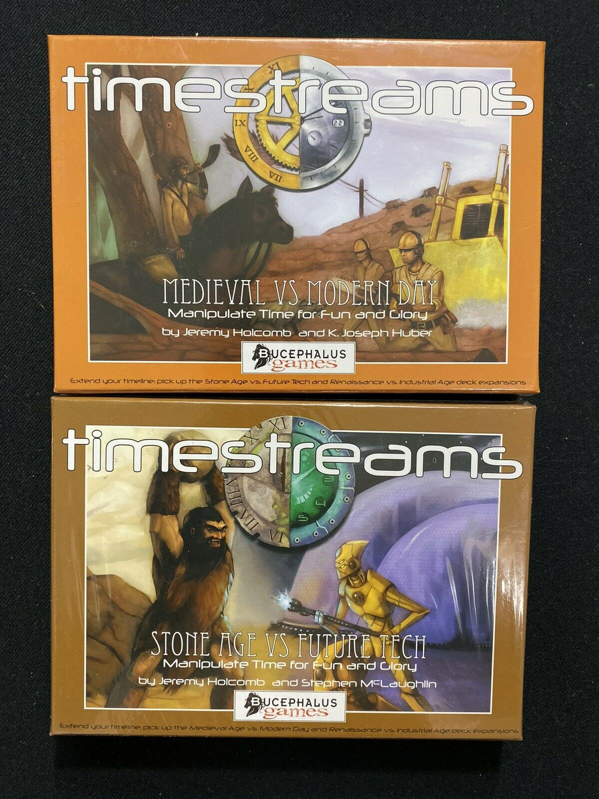 Bucephalus Games Timestreams The Expandable Time Travel Game Lot