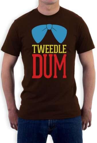 Tweedle Dum Costume T-Shirt Matching Couples Halloween Party super cute LOVE Tee
