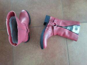 bottines rouges liberto 34