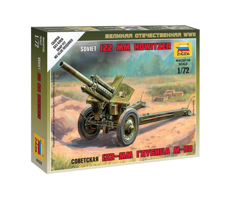 Zvezda 6122 Soviet 122-mmm Howizer M-30  1//72                  plastic model kit