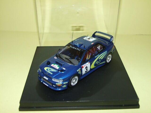 Subaru impreza wrc 1er rally of portugal 2000 burns trofeu 1117