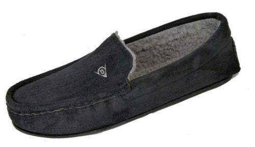 Men/'s Dunlop George Moccasin Loafers Slippers UK Size 11 Durable Outer Sole ##