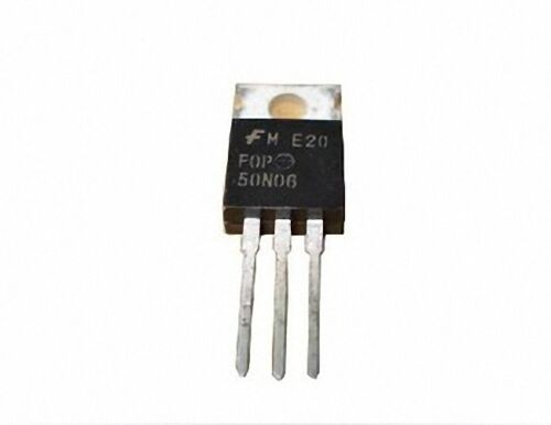 10 pcs FQP50N06 50N06 50A 60V TO-220 MOSFET N-CH New Good Quality
