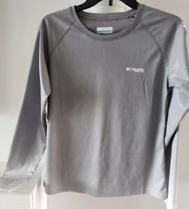 5bff3c81c1 Details about Women's Columbia Solar Shade Long Sleeve Shirt Gradient Gray  $65.00 #FL0033 NWT
