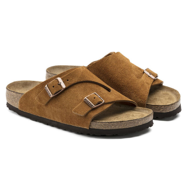 Birkenstock Zurich Soft Footbed (1009535) Suede Leather Sandals Women Sandal