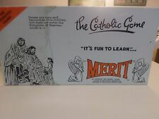 "Vintage Merit ""The Catholic Game"" 1962 Board Game  RARE"