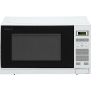 Sharp-Microwave-R220WM-800-Watt-Microwave-Free-Standing-White