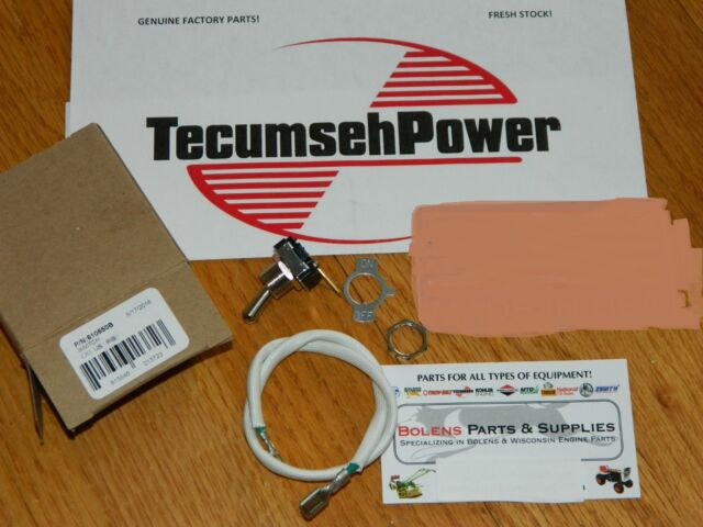 On/Off switch for Jiffy Ice Auger & Toro edger 2 cycle motor OEM TECUMSEH  610650