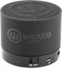 Wicked Audio Outcry Rechargeable Bluetooth Enhanced Bass Speaker, Black