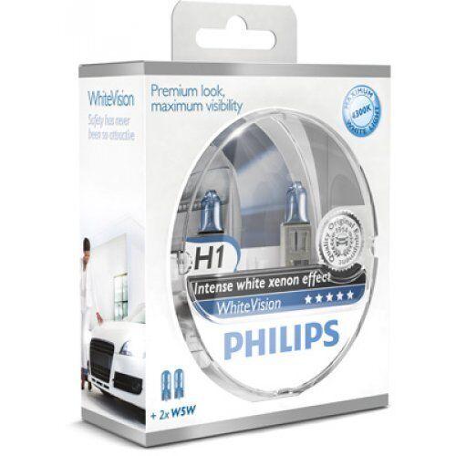 Philips lámpara incandescente, faros antiniebla whitevision