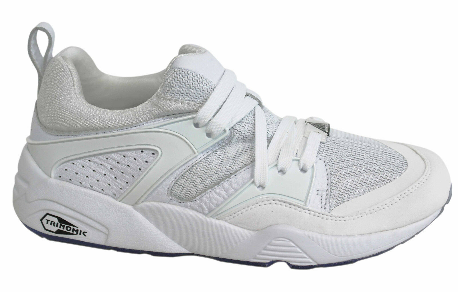PUMA BLAZE OF GLORY Réflectif blanc  à Lacets Baskets Hommes 362188 02 P0