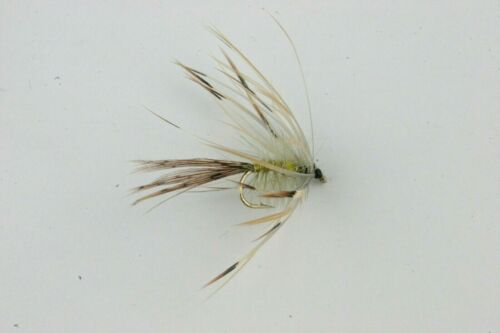 X1,4,5,20 Ultimate Mayflies /& Box Selection Trout Fishing Flies