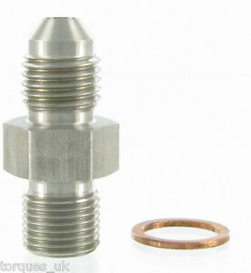 AN-4-4AN-To-M11x1-0-Garrett-Turbo-1mm-Restrictor-Oil-Feed-Stainless-Adapter