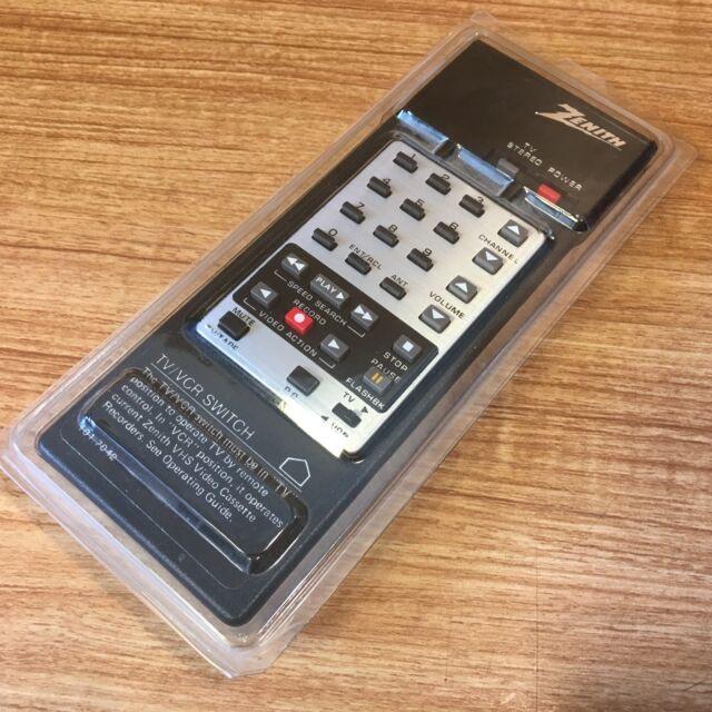 Vintage Zenith Tv Remote Control 101 7042 Ebay