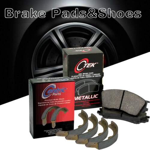 Shoes 2Set For 1972-1973 Toyota Corona Rear Metallic Brake Pads Front