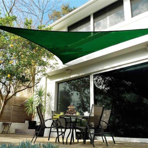 Sun Shade Sail Outdoor Patio Pool Lawn Top Canopy Patio Triangle 98/% UV Block