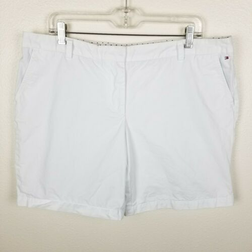 90s White Tommy Hilfiger Shorts  Bermuda  Casual Jean  Unisex