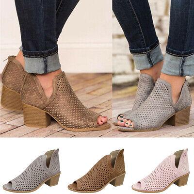 peep toe booties low heel off 79