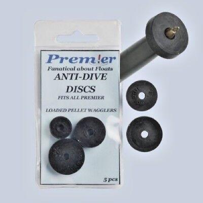 Premier Pellet Waggler Adaptor Quick kwik Change Float Anti Dive Discs Fishing