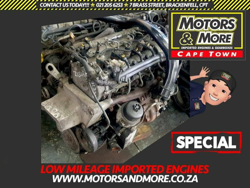 Opel Corsa Z13DTH-J 1.3DT Engine For Sale No Trade in Needed