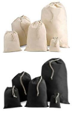 Cotton drawstring bags