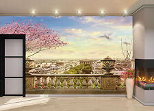 Panorama of Paris Wall Mural Photo Wallpaper GIANT DECOR Paper Poster Free Paste