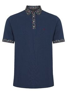 Polo Blue Cotton Shirt Retro Navy Rocket Paisley London Merc Plackett Mens gqYx7v1g