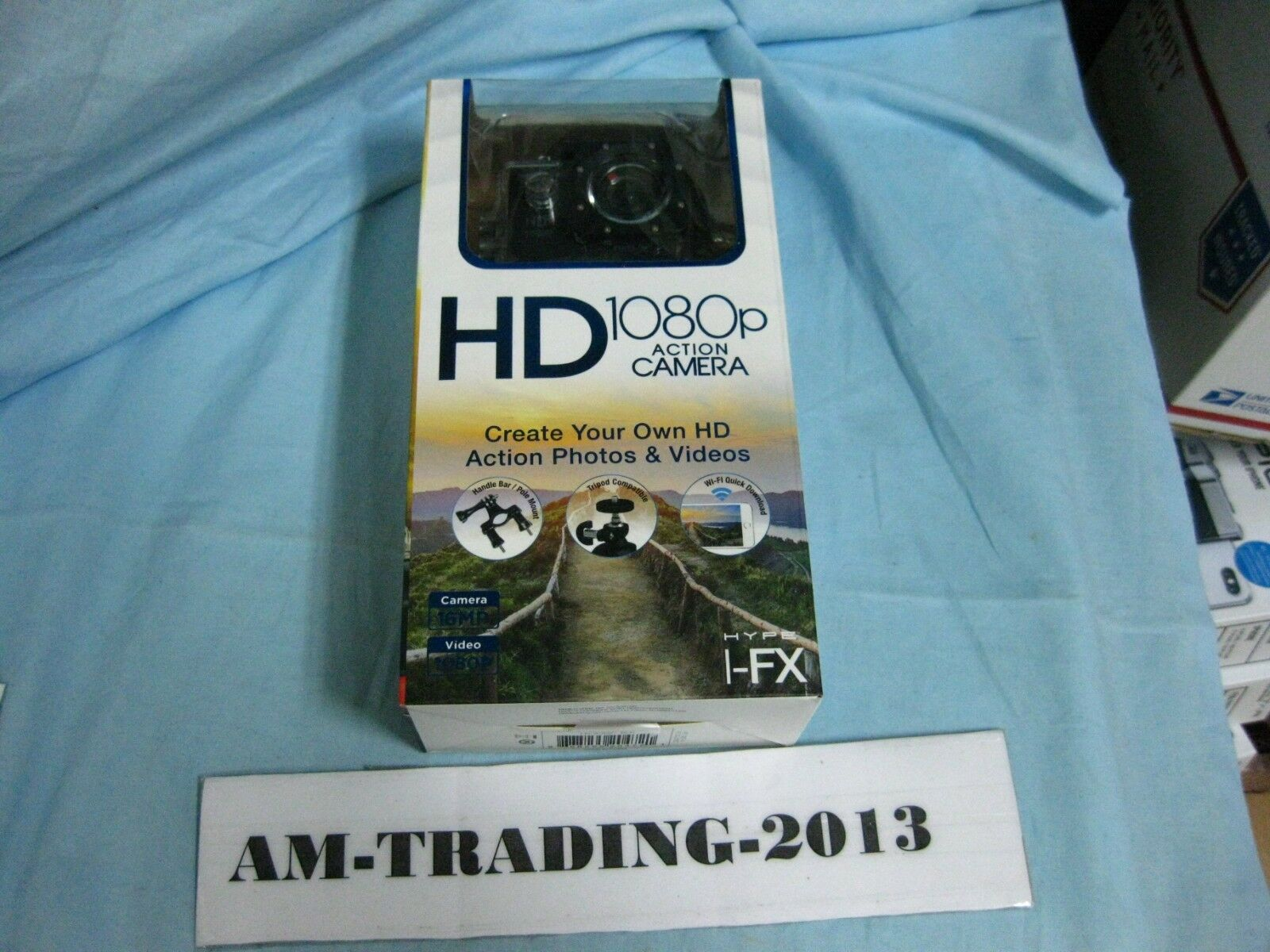 Brand New Hype I-FX Action Camera, HD 1080p, 16MP
