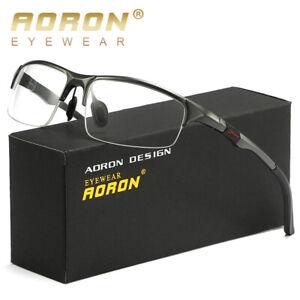 New-Mens-Aluminium-Sport-Eyeglass-Frames-Myopia-Glasses-Optical-Eyewear-Frame-RX