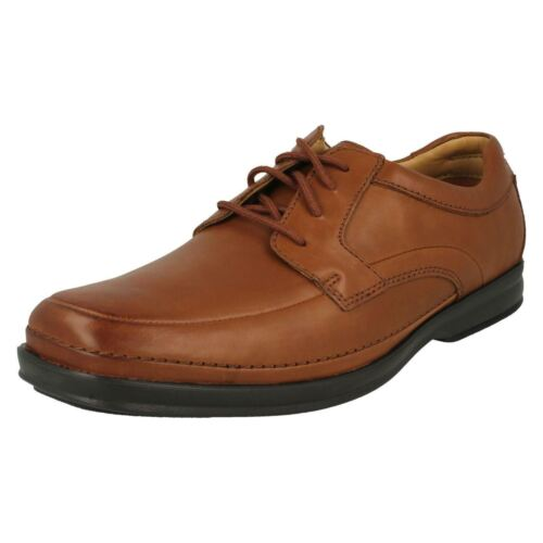Fit Shoes Scopic Way Wide Clarks Mens Toe Lace Formal brown Rounded Tan Up Leather v6qyzwI