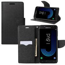 Buch Klapp Tasche Case Schutz Hülle SM-J330FN/DS für Samsung Galaxy J3 2017 DuoS